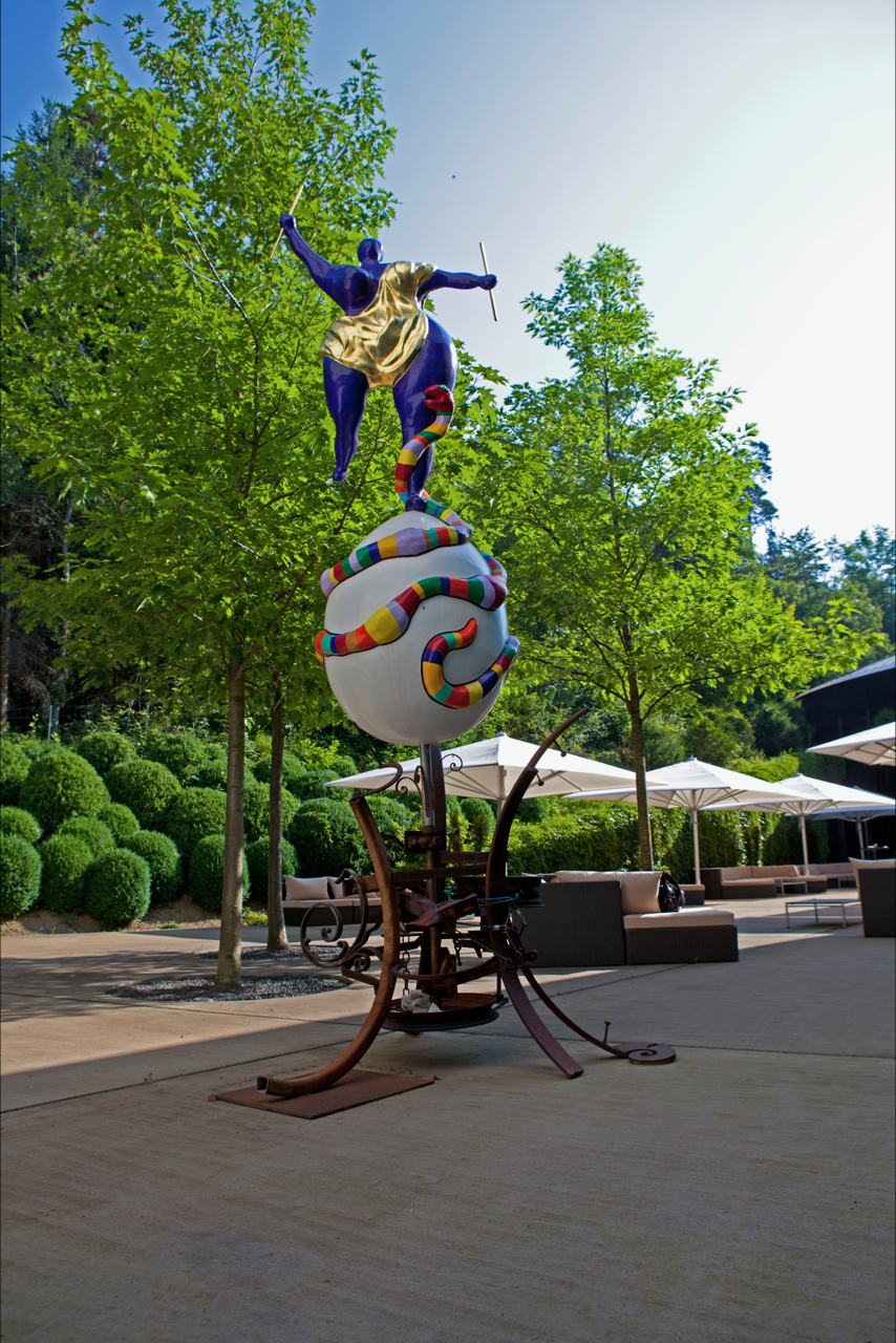 """Le Monde"" by Niki de Saint Phalle"