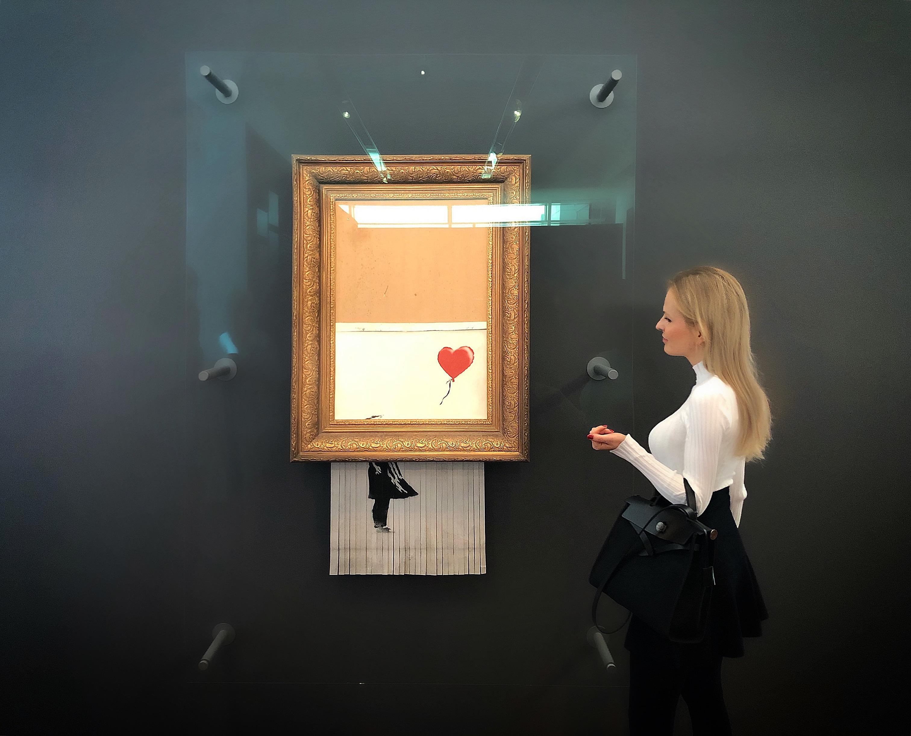 "Forbes: Banksy's ""Love Is In The Bin"" Exhibition at Museum Frieder Burda, Baden-Baden"